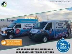 Furnace Duct Cleaning & Deep Carpet Steam Cleaning Truckmounted Machine Same Day Service