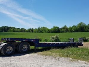 1990 35 Ton Single Drop Tandem JC Trailer