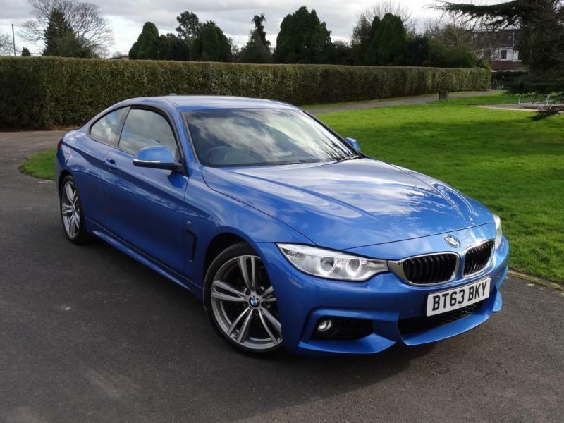 bmw 4 series 420i m sport coupe 2013 63 in ilford london gumtree. Black Bedroom Furniture Sets. Home Design Ideas