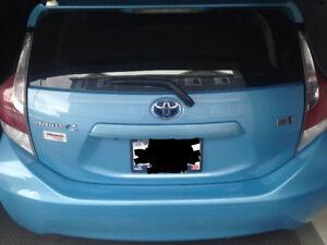 Selling Prius C hybrid.