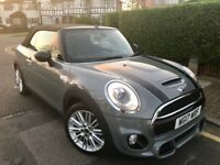 2017 MINI COOPER D CONVERTIBLE 1.5 TWIN-POWER TURBO 4,000 MLS UNDER WARRANTY S UPGRADED AS NEW MINT.