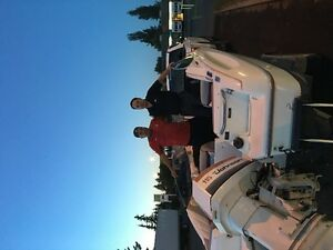1990 Bayliner Capri with 115 HP Johnson outboard motor