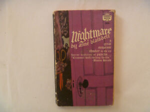 NIGHTMARE by Anne Blaisdell - 1962 Paperback (1st printing)