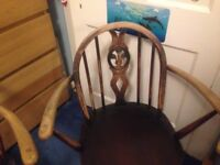 Ercol carver dining chairs