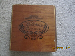 Vintage Gloria Dominicana Cigar box