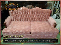 Antique Sofa | Settees | Loveseats | Living + Dining room chairs City of Toronto Toronto (GTA) Preview