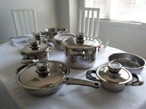 BRAND NEW STAINLESS STEEL COOKWARE