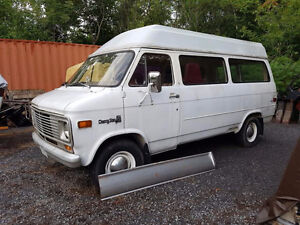 1977 Chevrolet Van from Vancouver island BC and almost no rust.