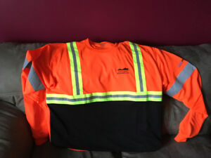 Safety shirt 3x but more like a 1or 2 x