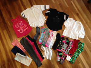 Size 6/7 fun knee high socks and girls clothes-all for $ 35.00