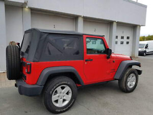 2017 Jeep Wrangler Sport S - like new with only 2500 kilometers