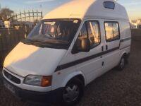Ford transit leisuredrive 3 berth p reg 2ltr 72000 miles