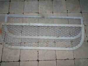 Window Well Cover - 42.5(w) x 13.25, Galvanized Frame And Metal
