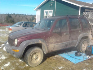2001 Jeep Liberty SUV, Crossover