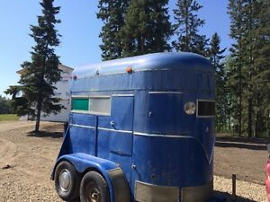 Trade or sell 2 horse trailer