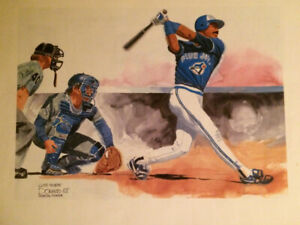 TORONTO BLUE JAYS 1988 PRINTS