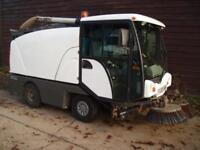2005 JOHNSTON ROAD SWEEPER C50 4 TON 2.8 TDI AIR CON LHD LOW HOURS NO VAT