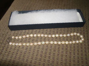 Antique Pearls with sterling silver clasp