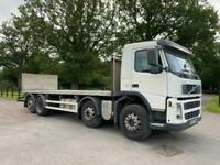 Volvo FM 380 8X2 FLAT BED REAR STEER AUTOMATIC GEARBOX