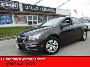2015 Chevrolet Cruze 1LT   BACKUP CAM, BLUETOOTH, SIRIUSXM!