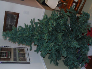 Artificial Christmas Tree & Decorations