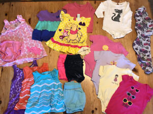 Baby Girls Clothes size 6-12 Months
