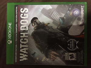 Watchdogs signature edition