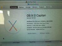 "MacBook Pro 15"" for sale. Mint condition"