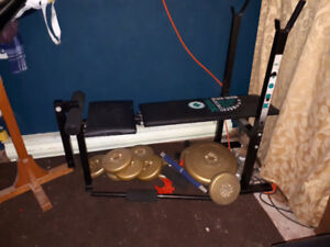 Weight Bench 90lbs Good condition