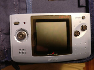 Neo Geo Pocket Color and games