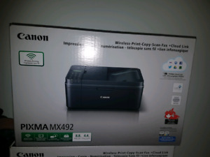 Brand new Sealed CANON PIXMA 492 All in 1. Cartridge included