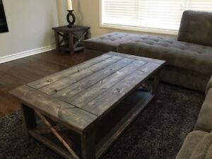 Rustic Custom Coffee Tables - NEW