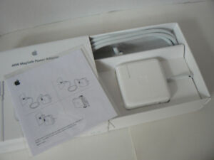 Magsafe Power Adapter for Macbook (MC461LL/A), like new 10/10