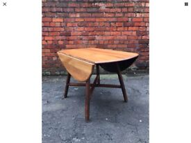 1960s Ercol Drop Leaf Dining Table