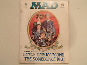 Mad Magazine No. 136 - July 1970 - BOTCH CASUALLY AND THE SOMEDU