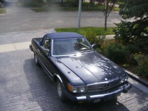 Fun Summer Car!  1984 Mercedes Convertible Roadster 310SL