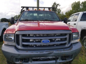 2004 Ford F-550 6.8L V10 4x4 Manual  60,000km Parts Outing