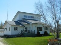 Executive Style Home on 35 Acres- 2 miles N. of Gimli