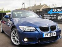 2012 BMW 3 SERIES 320I M SPORT AUTOMATIC CABRIOLET PETROL CONVERTIBLE PETROL