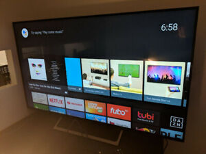 "55"" Sony XBR55X800E smart television, purchased in December"