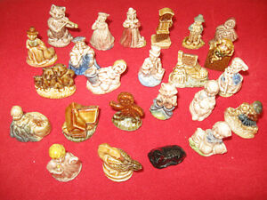 """One Complete Set of 24"" Nursery Rhymes Figurines Tea Whimsies"
