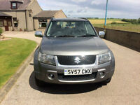 2007 57 Suzuki Grand Vitara X-EC 1.9 Diesel Grey 5 Door NEW MOT with jeep.