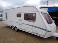 Abbey Spectrum 535/4 2006 4 Berth Fixed Island Bed Twin Axle Touring Caravan