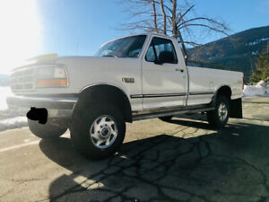 1997 Ford XL F350 4x4 for sale
