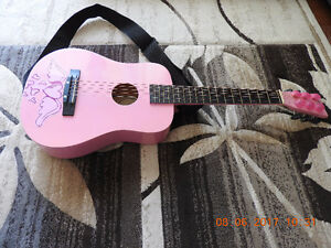 Pink First Act Acoustic Guitar