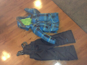 Boys winter jacket and snow pants