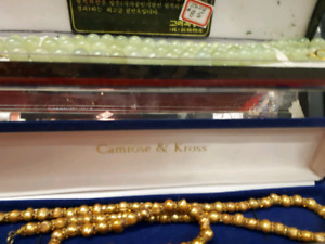 Real pearls all with fix appraisals 75% off