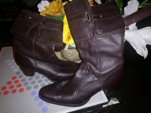 Womens Timberland Leather Boots