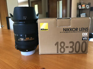 Nikon AF-S DX Nikkor 18-300mm Lens