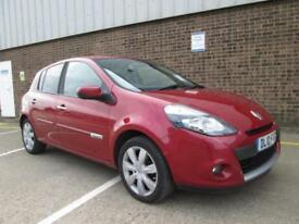 2010 (10) RENAULT CLIO 1.5 DCI DIESEL TOM TOM SAT NAV HALF LEATHER